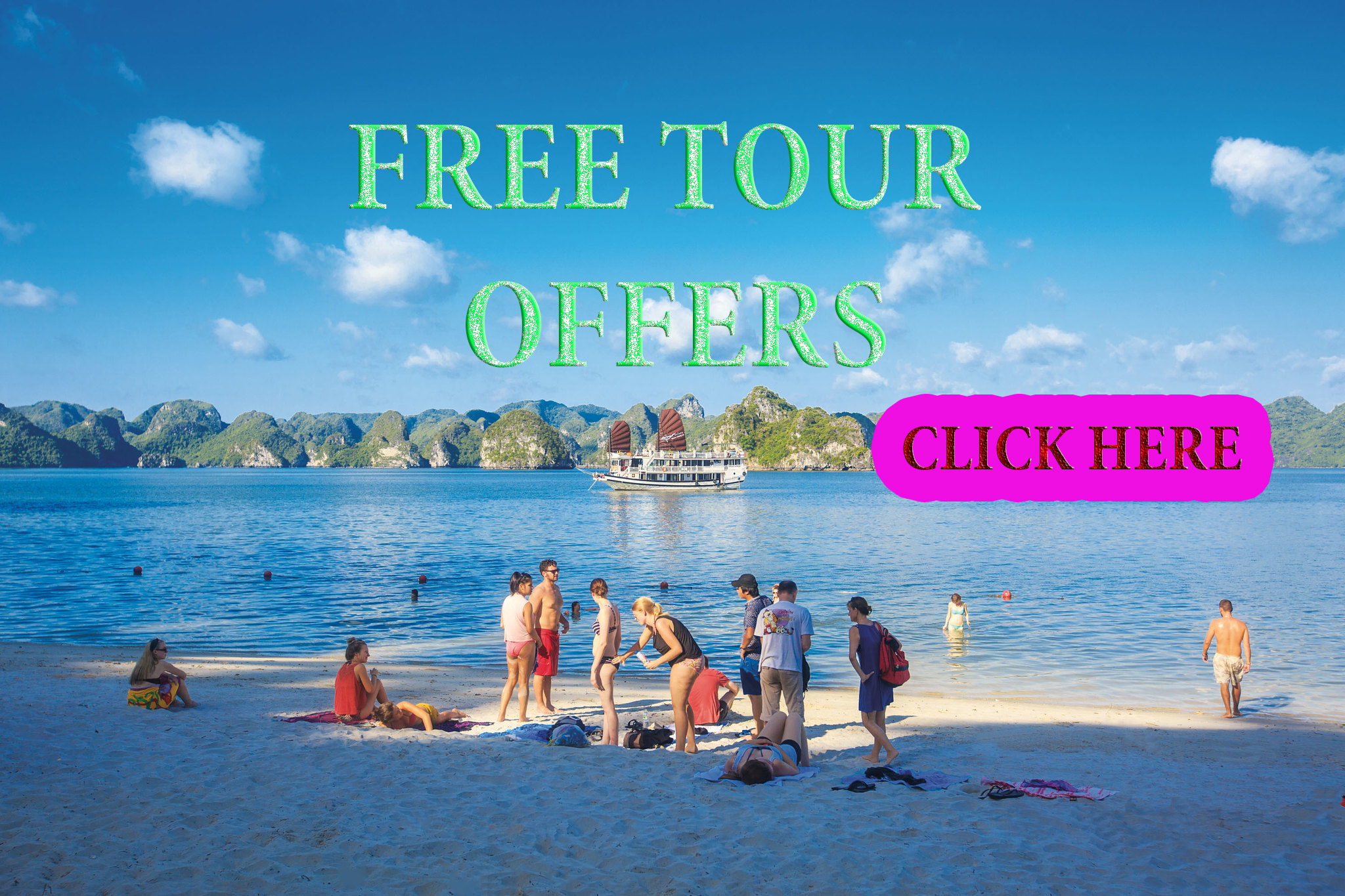 Free Tour Offers in Vietnam